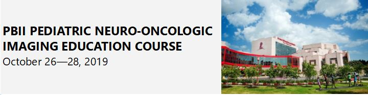 PBII Pediatric Neuro-Oncologic Imaging Course Banner